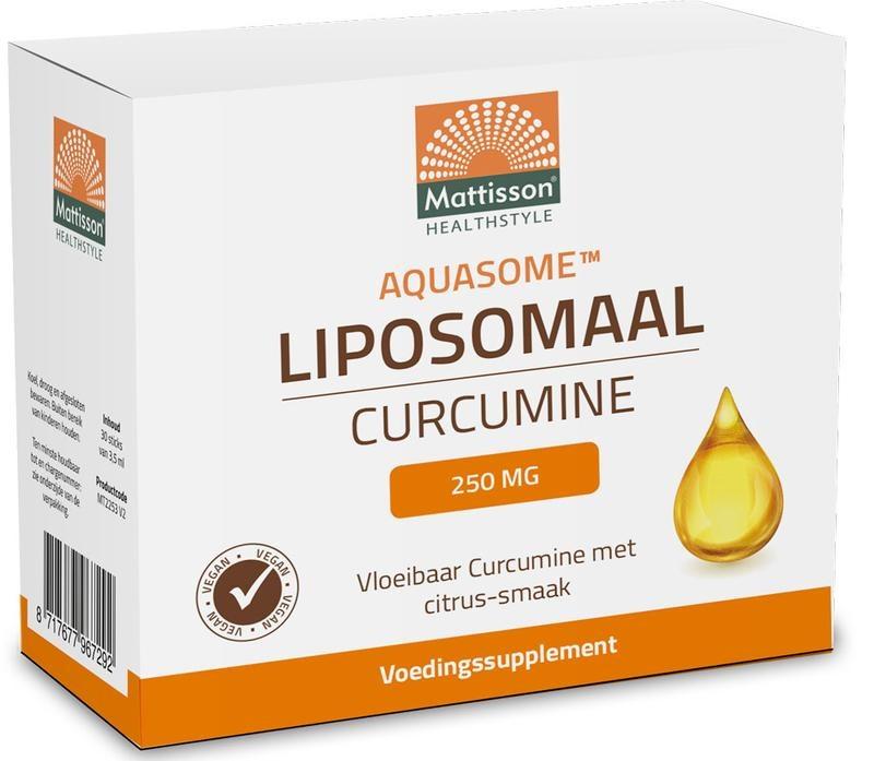 Mattisson Mattisson Aquasome curcumine 250 mg liposomaal (30 stuks)