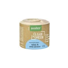 Purasana Clean & green relax & anti-stress (60 tabletten)