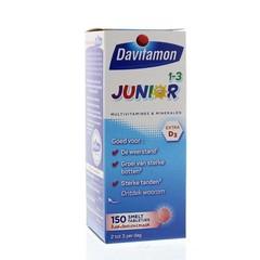 Davitamon Junior 1+ smelttablet (150 tabletten)