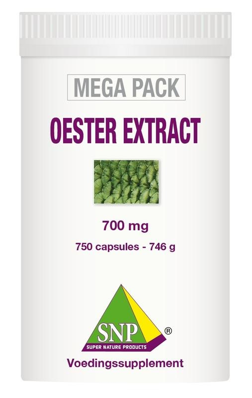 SNP SNP Oester extract megapack (750 capsules)