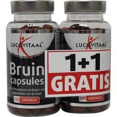 Lucovitaal Bruin 2 x 120 capsules (240 capsules)