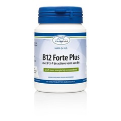 Vitakruid B12 Forte plus 3000 mcg met P-5-P (60 tabletten)