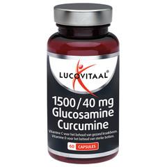 Lucovitaal Glucosamine & curcumine 1500/40 mg (60 capsules)