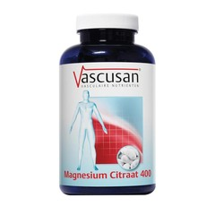 Vascusan Magnesium citraat 400 (200 tabletten)