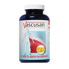 Vascusan E-400 Alpha tocopherol (120 softgels)