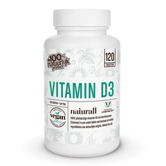 Naturall Vitamine D3 1000IU vegan (120 tabletten)