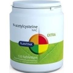 Plantina N Acetylcysteiine NAC (120 tabletten)