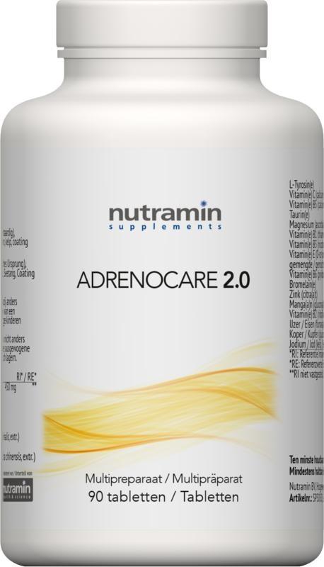 Nutramin NTM Adrenocare 2.0 (90 tabletten)