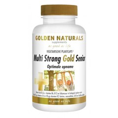 Golden Naturals Multi strong gold senior (60 capsules)