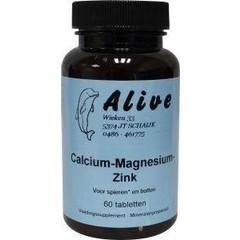 Alive Calcium magnesium zink (60 tabletten)