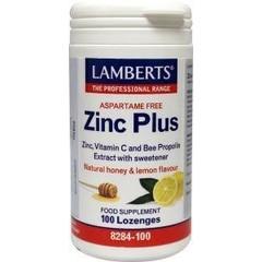 Lamberts Zink (zinc) plus (100 zuigtabletten)