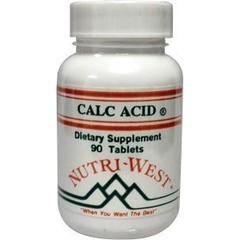 Nutri West Calc acid (90 tabletten)