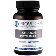 Proviform Chroom picolinaat 200 mcg (100 vcaps)