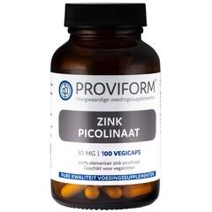 Proviform Zink picolinaat 30 mg (100 vcaps)
