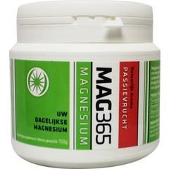 Mag365 Magnesium poeder - passievrucht & citroenzuur (150 gram)