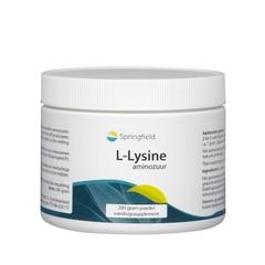 Springfield L-Lysine HCL poeder (200 gram)
