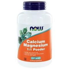NOW Calcium & magnesium 1:1 (227 gram)