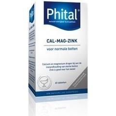 Phital Cal mag zink (60 tabletten)