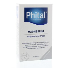 Phital Magnesium 200 mg (60 tabletten)