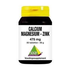 SNP Calcium magnesium zink 475 mg (60 tabletten)