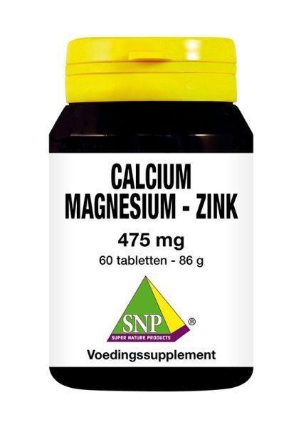 SNP SNP Calcium magnesium zink 475 mg (60 tabletten)