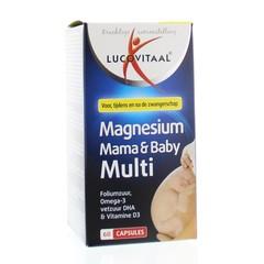 Lucovitaal Magnesium mama & baby multi (60 capsules)