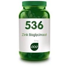 AOV 536 Zink bisglycinaat 15 mg (120 vcap)