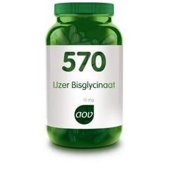 AOV 570 IJzer bisglycinaat 15 mg (90 vcap)