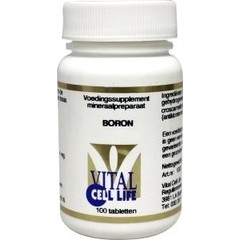 Vital Cell Life Boron 4 mg (100 tabletten)