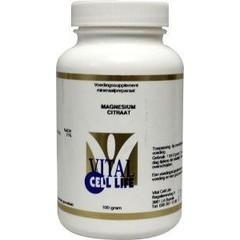 Vital Cell Life Magnesium citraat 160 mg poeder (100 gram)