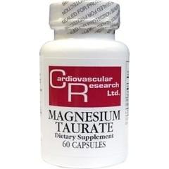 Cardio Vasc Res Magnesium tauraat (60 capsules)