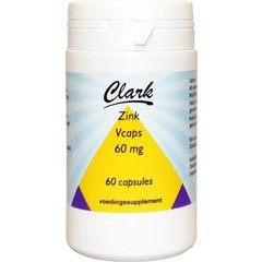 Clark Zink 60 mg (60 vcaps)