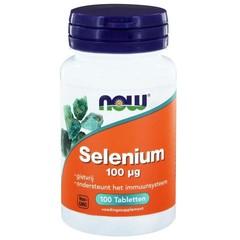 NOW Selenium 100 mcg (100 tabletten)