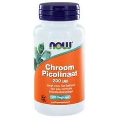 NOW Chroom Picolinaat 200 mcg (100 capsules)