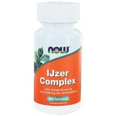 NOW IJzer complex (100 tabletten)