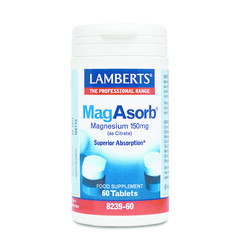 Lamberts MagAsorb (magnesium citraat) 150 mg (60 tabletten)
