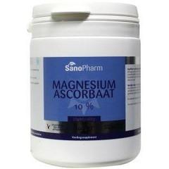 Sanopharm Magnesium ascorbaat poeder (100 gram)