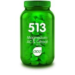 AOV 513 Magnesium AC & Citraat 150 mg (180 tabletten)