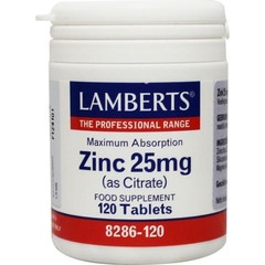 Lamberts Zink citraat 25 mg (120 tabletten)