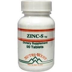 Nutri West Zinc S (90 tabletten)