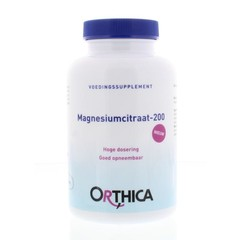 Orthica Magnesiumcitraat 200 (120 tabletten)