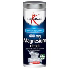 Lucovitaal Magnesium citraat 400 mg poeder (250 gram)