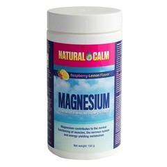 Natural Calm Magnesium framboos/citroen (150 gram)