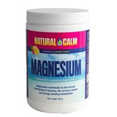 Natural Calm Magnesium framboos/citroen (300 gram)