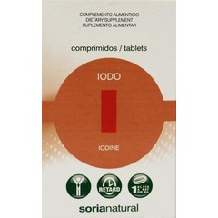 Soria Iodo jodium retard 150 mcg (48 tabletten)