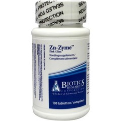 Biotics ZN Zyme 15 mg (100 tabletten)