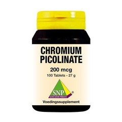 SNP Chroom picolinaat 200 mcg (100 tabletten)