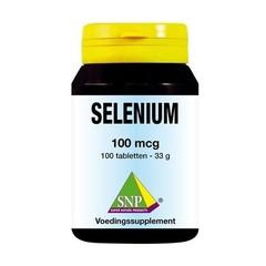SNP Selenium 100 mcg (100 tabletten)