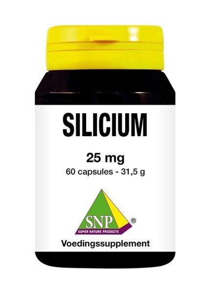 SNP SNP Silicium 25 mg (60 capsules)