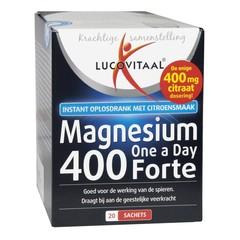 Lucovitaal Magnesium 400 forte (20 sachets)